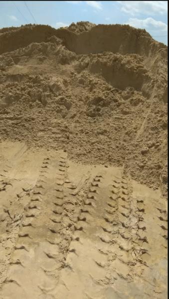 Пісок, щебінь