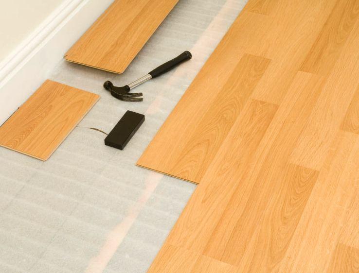 Як правильно стелити ламінат, укладання ламінату на дерев'яну підлогу