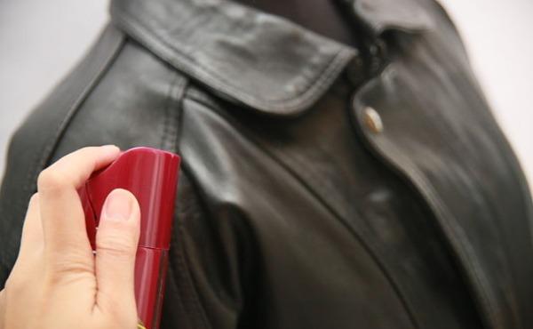 Як розгладити шкіряну куртку