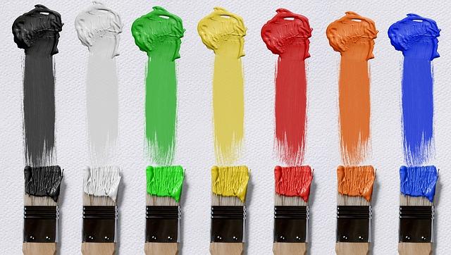 Водоемульсійні фарби: види та характеристики