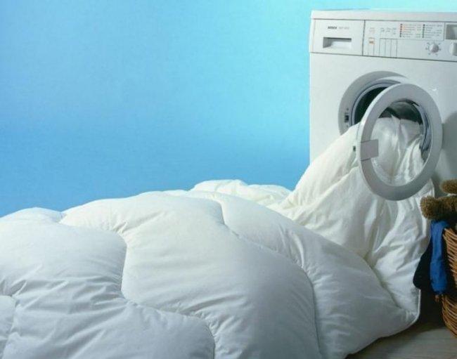 Як прати ковдру
